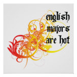 English Majors Are Hot Posters