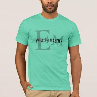 English Mastif Dog Breed/Dog Lovers Initials Shirt