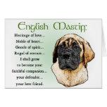 English Mastiff Art Gifts Greeting Card
