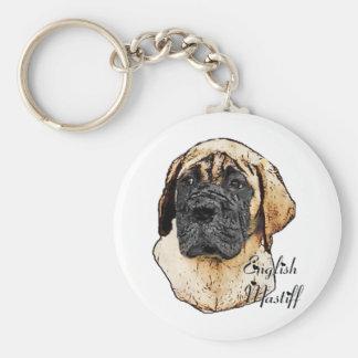 English Mastiff Art Gifts Keychain