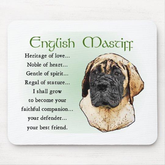 English Mastiff Art Gifts Mouse Pad