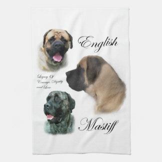 English Mastiff Art Towel