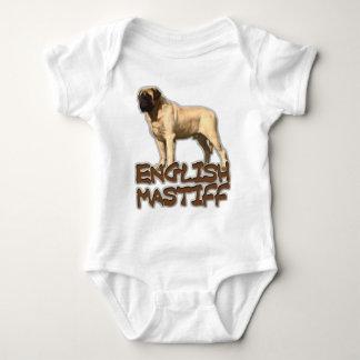 English Mastiff Baby Bodysuit