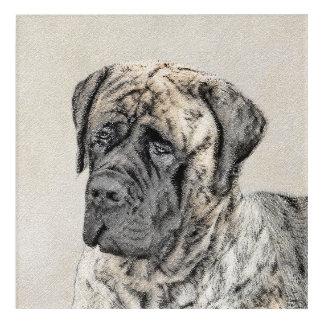 English Mastiff (Brindle) Acrylic Wall Art