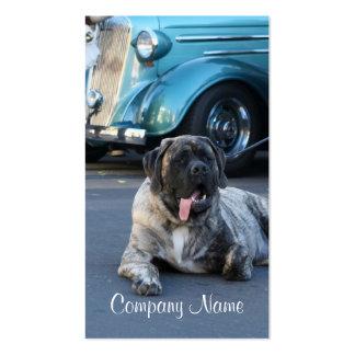 English Mastiff Business Cards