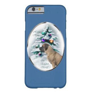 English Mastiff Christmas Barely There iPhone 6 Case