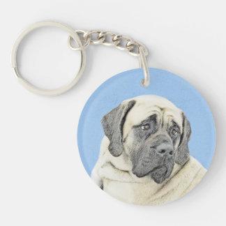 English Mastiff (Fawn) Keychain