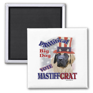 ENGLISH MASTIFF Gifts 2 Inch Square Magnet