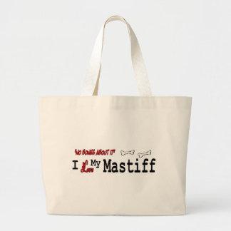 English Mastiff Gifts Large Tote Bag