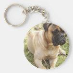 English Mastiff Keychain