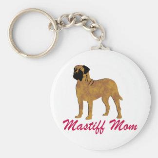 English Mastiff Mom Keychain