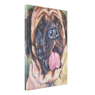 English mastiff  Painting on Wrapped Canvas