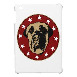 English Mastiff Stencil Emblem iPad Mini Cases