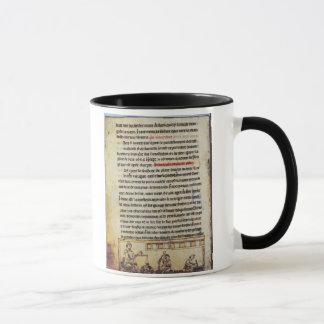 English miniature, 'Medica', illustrating an apoth Mug
