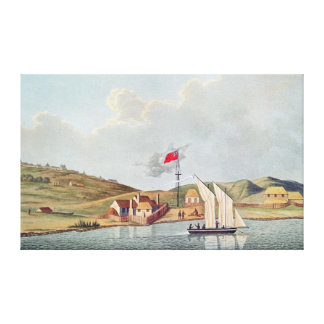English Missionaries in Kidikidi New Zealand Gallery Wrapped Canvas