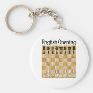 English Opening Keychain