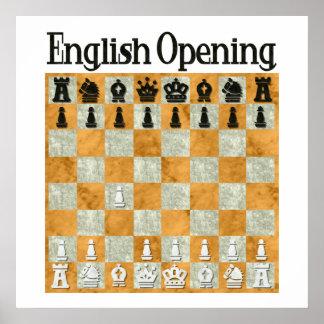 English Opening Poster