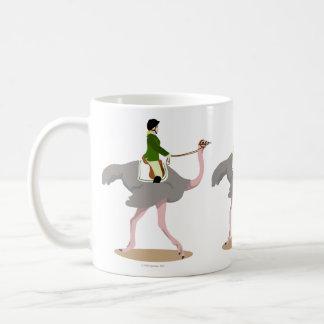 English Ostrich Coffee Mug