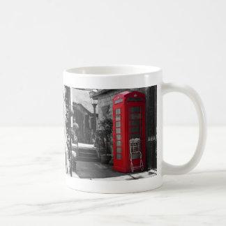English Phone Booth Coffee Mug