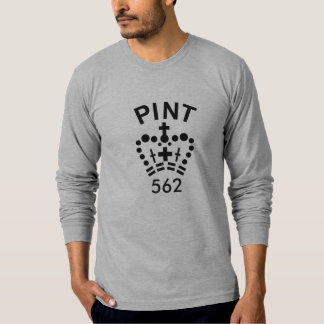 English pint long-sleeve T-shirt