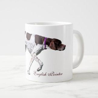 English Pointer dog beautiful photo, gift Large Coffee Mug