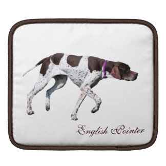 English Pointer dog beautiful photo, gift Sleeve For iPads
