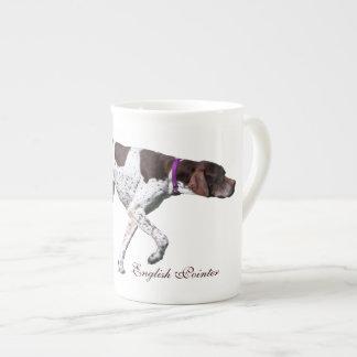 English Pointer dog beautiful photo, gift Tea Cup