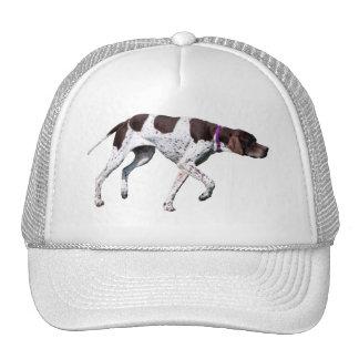English Pointer dog beautiful photo hat gift