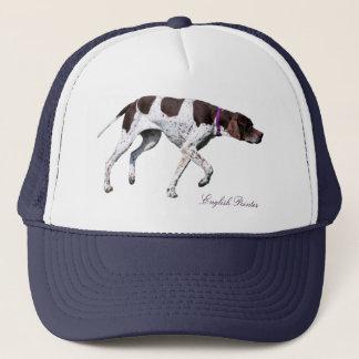 English Pointer dog beautiful photo, hat, gift Trucker Hat
