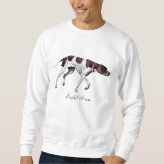 English Pointer Dog unisex sweatshirt, gift idea Sweatshirt