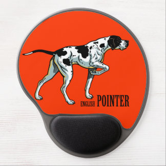 english pointer gel mouse pad