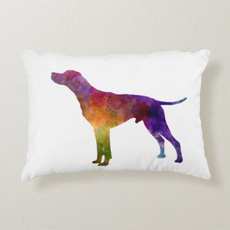 English Pointer in watercolor Accent Pillow