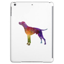 English Pointer in watercolor iPad Air Case