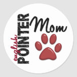 English Pointer Mom 2 Stickers