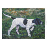 English Pointer notecard Cards