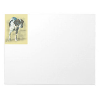 English Pointer Notepad