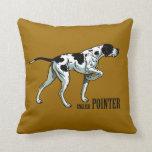 english pointer pillow