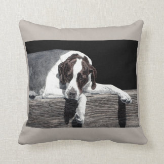 "English Pointer Pillow - ""Sophie"""