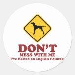 English Pointer Sticker