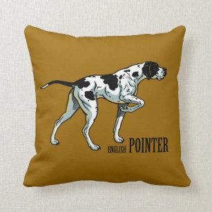 English Pointer Decorative Throw Pillows Zazzle