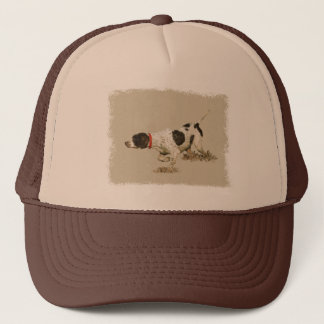 English Pointer Trucker Hat
