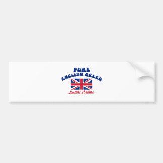 English pride designs bumper sticker