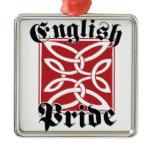 English Pride Metal Ornament