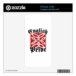 English Pride Skin For The iPhone 4S