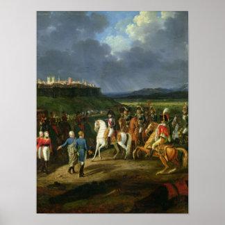English Prisoners at Astorga Presented to Poster