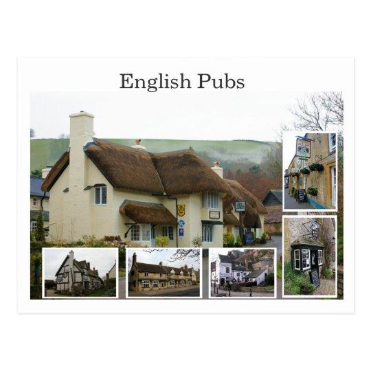 English Pub Scenes - Customized - Customized Postcard