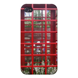English red phone booth cool Speck Case iPhone 4 Covers