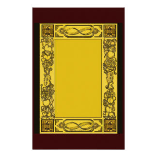 English Restoration Woodcarvings Inspired Statione Stationery