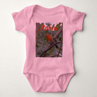 English Robin Baby Bodysuit