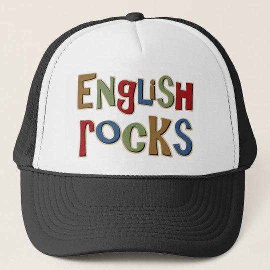 English Rocks Trucker Hat